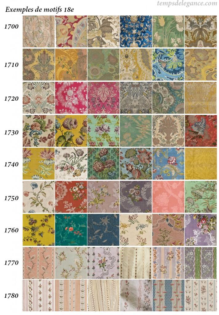 Tissus 18e_ 18th fabrics